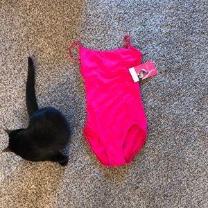 Other - Gaynor Minden hot pink cami dance leotard. New